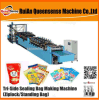 Three Side Sealing Bag Making Machine Zipper Pouch Stand Bag