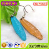 Hot Selling Metal Alloy Indian Enamel Feather Earring #21603