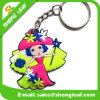 China Manufacturer Fancy Rubber Key Chain (SLF-KC043)