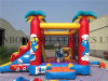 2016 Hot Sale New Palm Tree Combo Inflatable Cartoon Bouncer for Kids