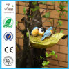 Polyresin Birdbath/ Birdfeeder for Garden Decoration
