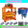 Small Manual Vibrated Brick Block Making Machine Qtj4-40