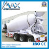Semi-Trailer for Powder and Particle Material Transport