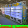 Eco-Friendly Flexible Modular Aluminum Display Systems Replace Wooden Exhibition Booth
