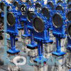 Pneumatic Actuated Knife Gate Valve Lug Type Unidirectinal