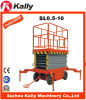 490kg Capacity Electric Mobile Scissor Lifting Platform with 10m (SL0.5-10)