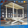 Movable Large Scissor Lifting Car Parking Platform Elevator