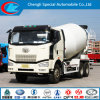 China Made Faw 6X4 Cement Mixer Truck 2015 New Concrete Mixer Truck
