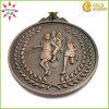 Custom Antique Bronze Metal Badge with Sport