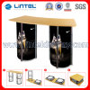Stable Reception Desk Spiral Tower Display Folding Promotion Counter (LT-07B2)
