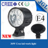 Waterproof 4D Optic Lense CREE LED Driving Light CE