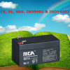 Good Quality Small Size Battery 12V Lead Acid Battery 1.3ah