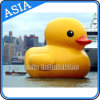 Cute Inflatable Cartoon Character / Giant Yellow Duck for Asvertising