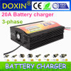 Doxin Battery Charger 20A Four-Step Charging Mode Fast Battery Charger 12V Battery Charger