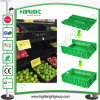 Collapsible Folding Crate for Fruits and Vegetables