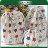 Pattern Printing Special Design Drawstring Jewelry Bags Cotton