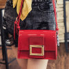 Shiny Patent PU Leather Top Handle Satchel Womens Small Purse Sy7698