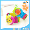 Color Mixture Eco Friendly Creative Silicone Slap Watch