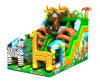 2016 New Design Cheap Inflatable Jungle Slide for Sale