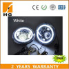 "7"" LED Headlight for Jeep Wrangler Jk Headlamp with Halo Angel Eye & Turn Signal Lights & DRL"