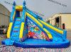Hot Sale Blue Color Ocean Theme Boat Shape Inflatable Water Slide