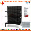 Customized Supermarket Hypermarket Iron Wall Display Shelving Shelf (Zhs573)