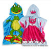 Cotton Printing Kid′s Bath Poncho Beach Poncho with High Quality