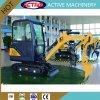 1.8ton AL18-9D hydraulic crawler mini digger with zero tail