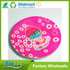 Paper Tableware Manufacturer Pink Round Disposable Paper Plate for Party