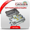 High Performance CATV Outdoor Trunk Line Bi-Directional Amplifier with Ea & Att