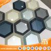 Bathroom Wall Mosaics Sea Blue Glass Backsplash Mirror Design Shower Wall Art (M855411)