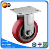 5inch Rigid PU Mute Casters for Platform Trolley