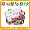 Rectangular Food Packaging Box Metal Christmas Gift Nuts Tin