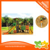 Clean Sense Style Splicing Green Gloriette Amusement Park Slide for Sale