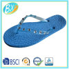 Ladies Flip Flops PVC Upper Sandals with Rope Sole