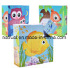Educational 9 PCS Cartoon 3D Wooden Puzzle