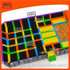 Large Sized Indoor Trampoline Arena Products with Basketball Hoop