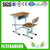 Classroom Cheap Single Desk and Chair (SF-49A)