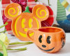 Ceramic Pumpkin Coffee Cup and Saucer