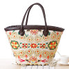 Best Selling Retro Women Straw Bags Handicraft Straw Bag (T033)