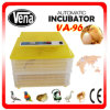 CE Approved 96 Chicken Eggs Full Automatic Used Poultry Incubator for Sale Energy-Saving