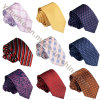Wholesale Korean Silk Casual Jacquard Weave Narrow Ties for Shirts