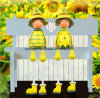 2 PCS Sunflower Style Puppet Decoration New