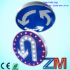 Solar LED Flashing Branch Roadway Traffic Sign