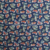 Cotton Plain Fabric for Garments with Flower Printed (30X30/68X68)