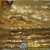 Silver Aluminum Cloth Metal Sequin Fabric for Shower Room Curtain