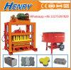 Small Machines for Business Qtj4-40 Interlocking Paving Making Machine for Sale Manual Block Making Machine in Kenya