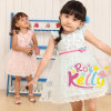 Sweet Summer Latest Fashion Floral Baby Girl's Dresses
