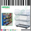 Metal Stacking Storage Cage for Supermarket