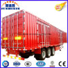 40-70 Tons Strong Tractor Truck Van Type Box Utility Cargo Trailer